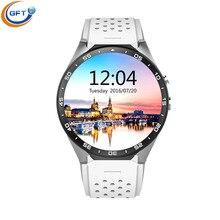 GFT KW88 3G wifi smart watch sim uhr smart mit gps bluetooth pulsmesser smartwatch android phone 512RAM + 4G ROM