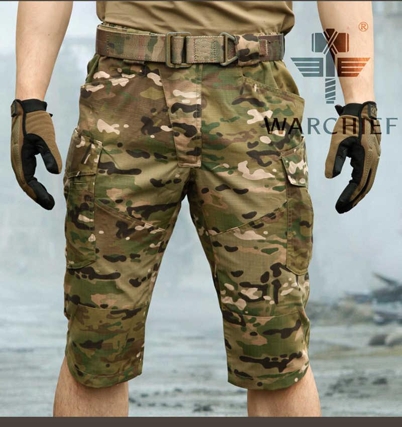 Tattico CP Outdoor Camouflage Capri Degli Uomini Del Cotone Poliestere Crea Quick Dry Pantaloni Militari, Pantaloni Da Trekking shorts