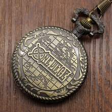 Anime One Piece Pocket Watch Necklace Watch