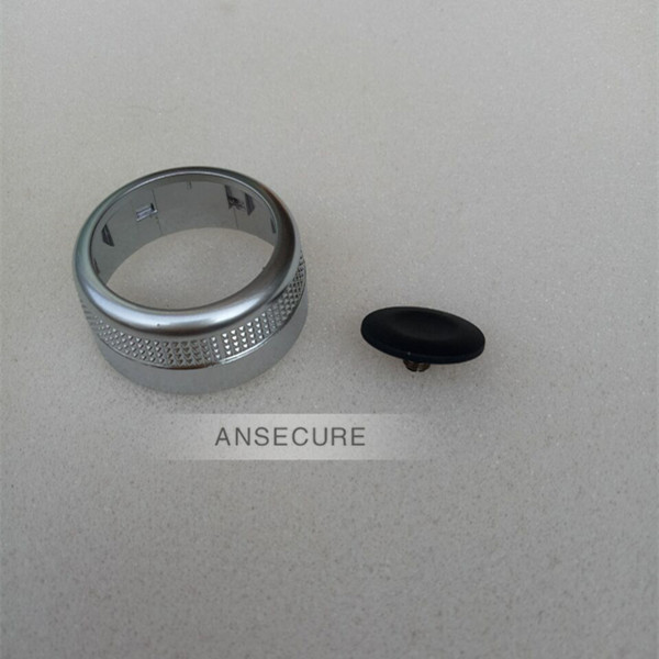 MMI Knob Joystick Button Cap Cover Repair Kit With navigation For <font><b>audi</b></font> <font><b>A6</b></font> C6 Avant allroad Quattro <font><b>2006</b></font>-2011 image