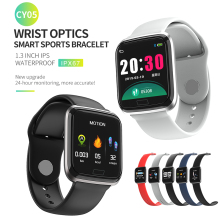 CY05 Sport Smart band Bluetooth IP67 waterproof Swim Watch with heart rate fitness tracker Sleep Feedback smart bracelet
