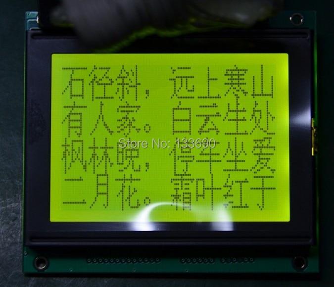 2pcs LOT 12864 128X64 T6963C lcd display graphic module RA6963 20pin 78x70 mm Compatibel WG12864D LM12864T