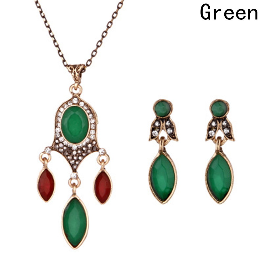 Aliexpress.com : Buy 1 Set Vintage Wedding Costume Jewelry ...