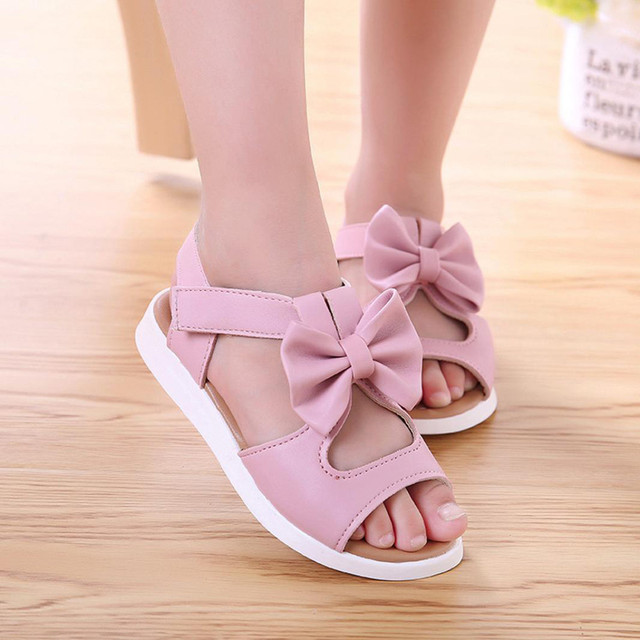 Spring Bow Sandals