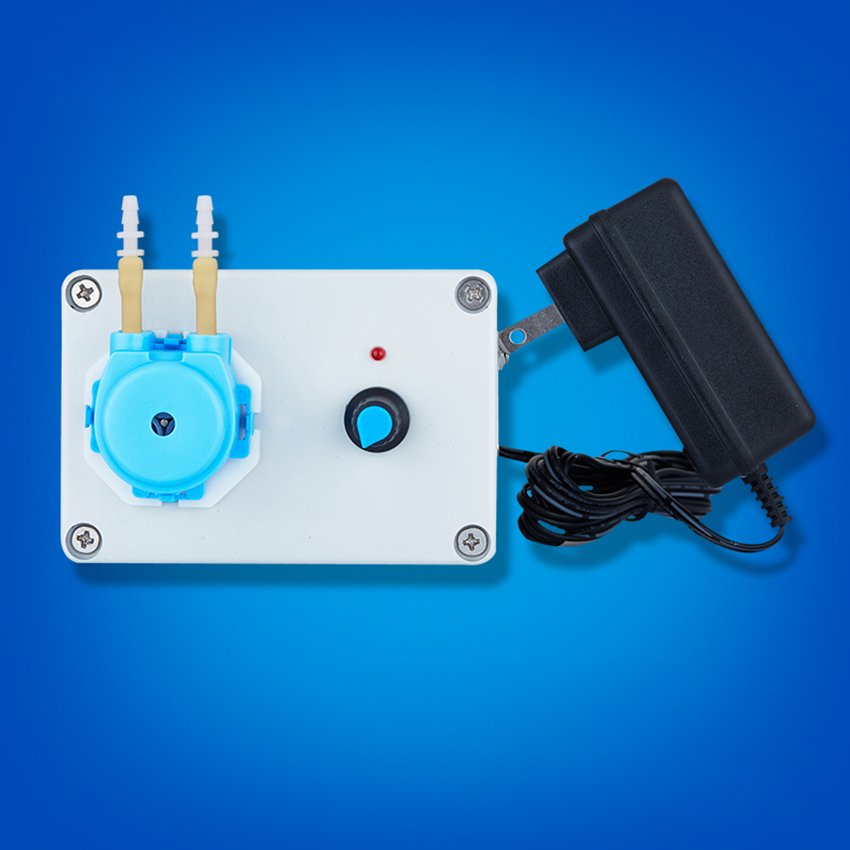 micro peristaltic pump with adjustable flow rate Mini electric Water pump dosing pump For Chemical Lab