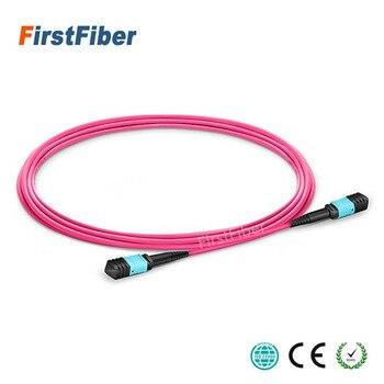 30 м MPO волоконный патч кабель OM4 UPC Перемычка для женщин 12 ядер патч корд Многомодовый кабель багажника, тип A Тип B Тип C