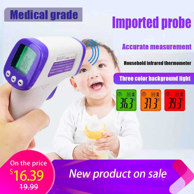 Baby Digital Electronic Medical Fever Thermometer For Body Children Infrared Non Contact Forehead Electronic To Bestselling