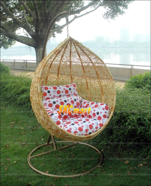 Bird nest swing hanging basket rattan chair outdoor furniture rocking  garden chair patio swing chair outdoor - Bird Nest Swing Hanging Basket Rattan Chair Outdoor Furniture