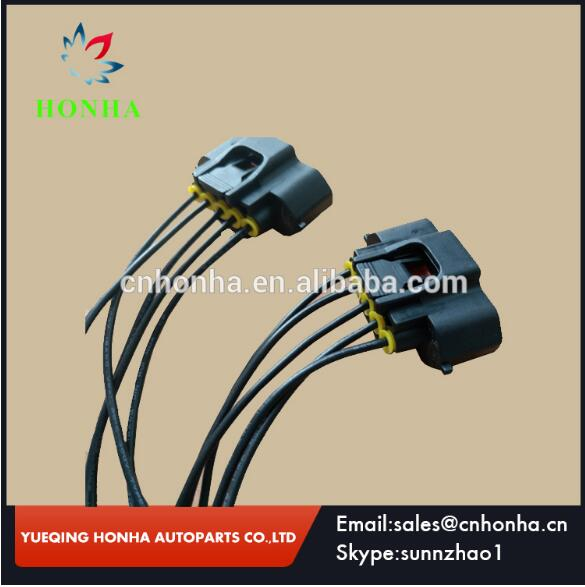 90980 11317 Mass Air Flow MAF Sensor Connector With Plug Pigtail Wiring Harness For Toyota Lexus toyota wire harness pigtails automotive wiring pigtails, wire wire harness sock at gsmx.co