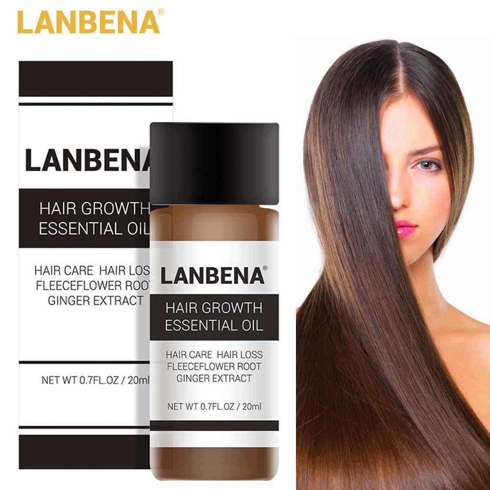 LANBENA Ingwer Extrakt Ätherisches Öl Haarpflege Nähren Kopfhaut Reparatur Trockenen Schaden Haar Behandlung Glycerin NutOil Friseur TSLM2