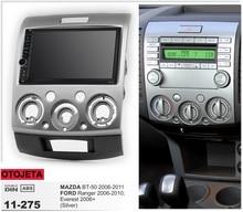 Radio de coche con marco Android 9,1 Autoradio GPS Player para MAZDA BT-50 FORD Ranger Everest 06 + grabador multimedia dispositivo ESTÉREO