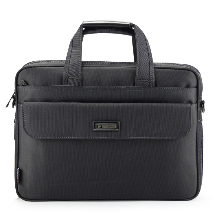 3208# New Men's Oxford Cloth Business Briefcase Single Shoulder Computer Bag Large Capacity Male Briefcase