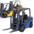 Alloy Machineshop Truck 1:20 Light Metal Toy Forklift Fork Truck Model Machine Simulation Children Toy