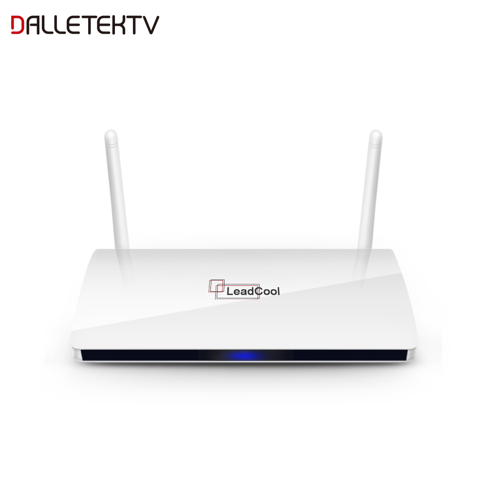 Dalletektv 1 GB 8 GB Leadcool Android 7.1 TV Box Smart TV Box RK3229 décodeur Full HD HDMI lecteur multimédia livraison gratuite