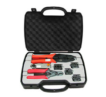 KELUSHI 2020 HT 330K BNC Koaxial Crimpen Zange Video Kopf Tools Set