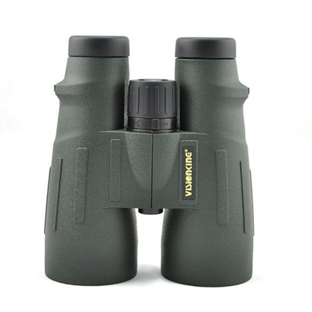 Télescope binoculaire de toit professionnel Visionking 12x56, entièrement étanche à lazote, multi couches HD, portée de guidage pour la chasse au Camping