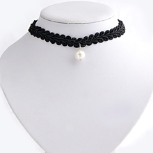 Fashion Black Velvet Ribbon Flat soft Cord Pearl Star Skull Round Heart Pendant Weed Charm 13 Choker Necklace Collares Gothic black leaf pendant cord choker necklace