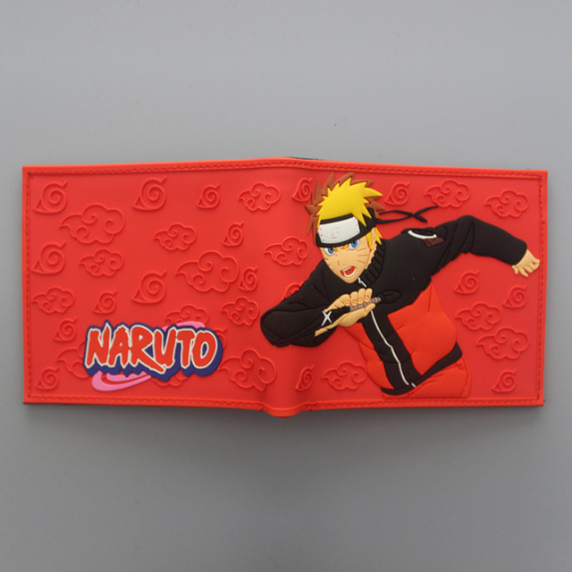 NARUTO Wallet Pattern Printing with Card Holder