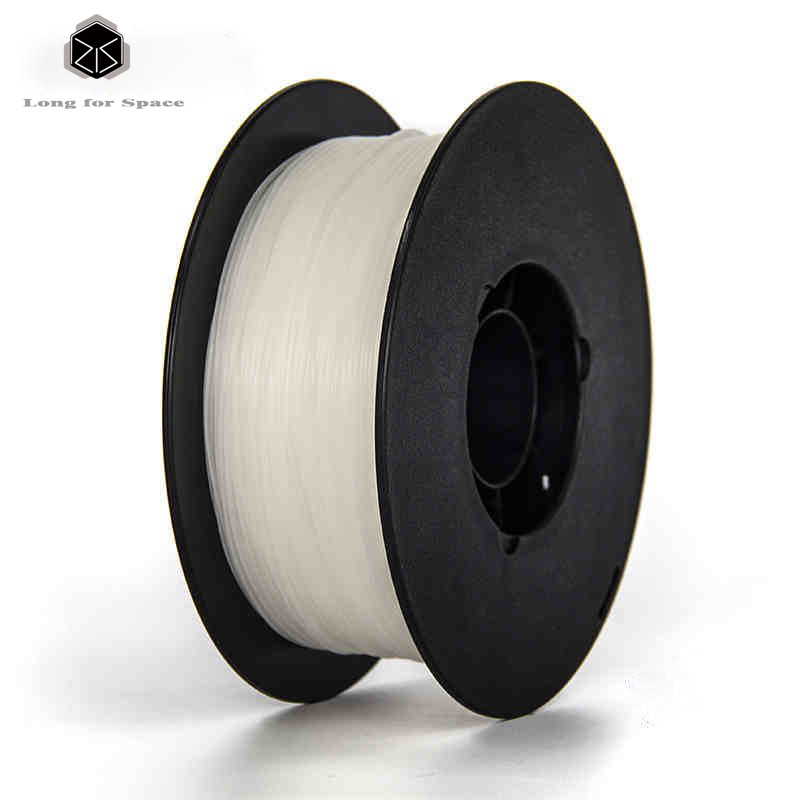 New Arrival White PLA/ABS Plastic Rubber Consumables Material 1.75mm 3D Printer Filament 1kg/Spool For Makerbot/Reprap/Mendel high quality 3d printer filament pla 1 75 3mm 1kg plastic rubber consumables material for 3d printing makerbot reprap up mendel