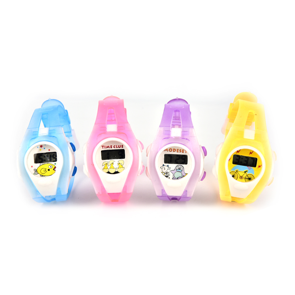 Hot Sale Children's Watch Outdoor Required Colorful Boy Girl Student Sport Time Clock Electronic Digital LCD Wrist Watch