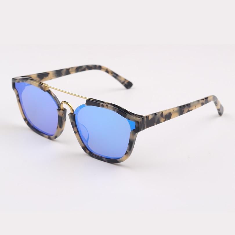 Frauen Sonnenbrille Hohe Mode Qualität Marke Objektiv Designer Mirrored Leopard Blau rdnaYq1rW0