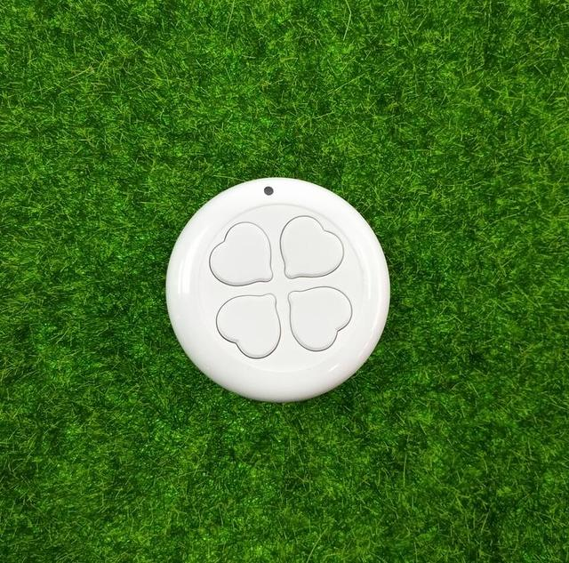 433mhz   RF  1 button RF Transmitter Wireless Remote Control ,EV1527 round button wall switch with a paste