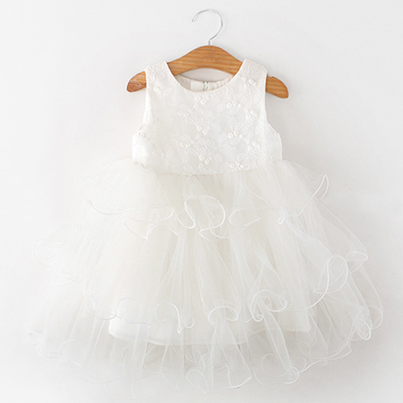HTB1tyIibdfvK1RjSspoq6zfNpXaZ Lace Little Princess Dresses Summer Solid Sleeveless Tulle Tutu Dresses For Girls 2 3 4 5 6 Years Clothes Party Pageant Vestidos
