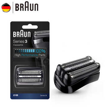 Braun Electric Razor Blade 21B 32B 32S BT32 Refills Foil for Series 3 Electric Shaver 300s 301s 310s 3000s 3020s 3050cc Cruzer6 - DISCOUNT ITEM  47% OFF All Category