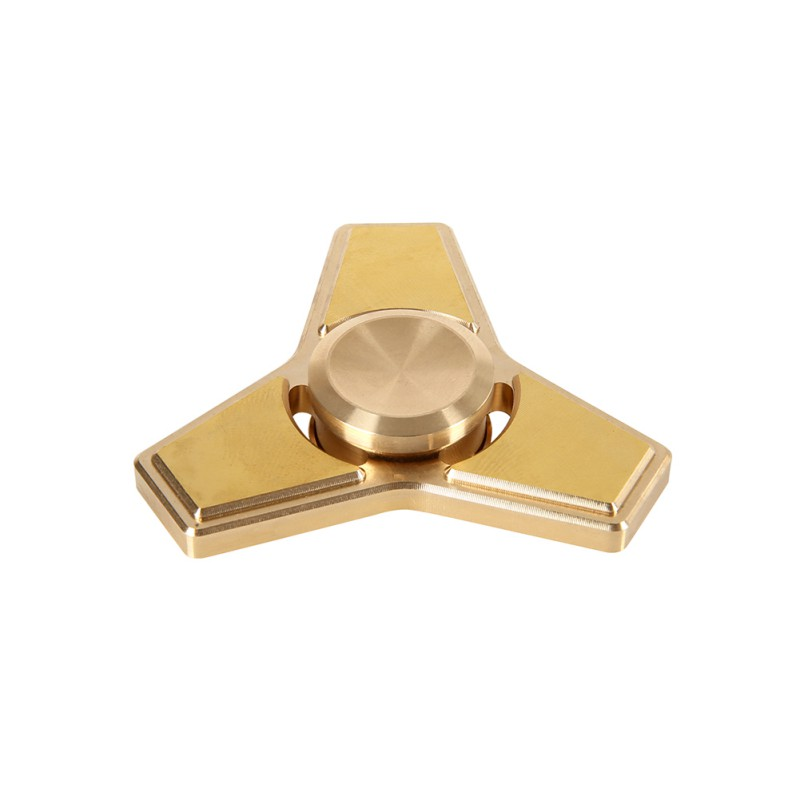 Spinner Fidget Toy Finger Spinner Pure copper Made EDC Hand Spinner For Autism and ADHD