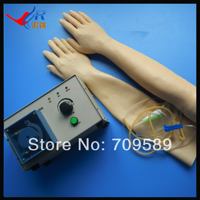 Budget Medital Training Model---Full-functional Venipuncture Transfusion Arm iso iv training hand venipuncture hand model iv injection training model