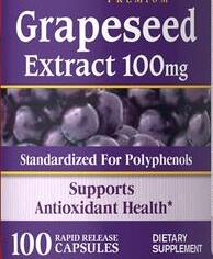 Pride Grapeseed Extract 100mg/100 Supports antioxidant health Contain polyphenols Fights cell-damaging free radicals beauty face radicals