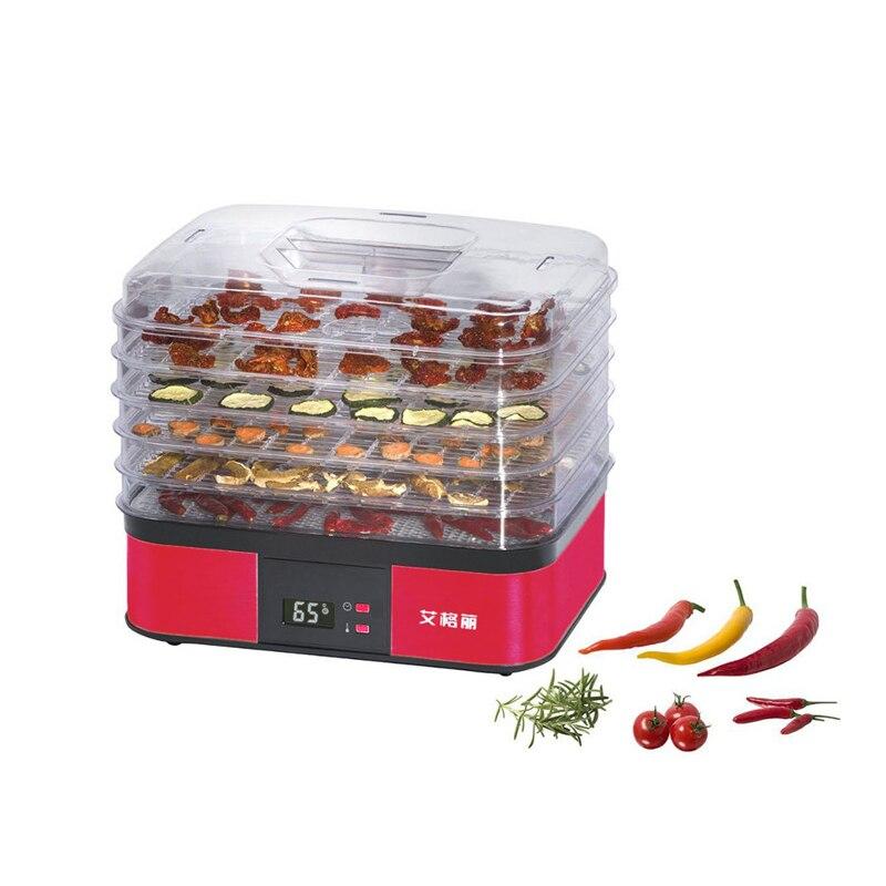 все цены на 5 Layers Fruit Food Dryer Household Vegetable Dehydrator 220V 250W Food Drying Machine AG1001 онлайн