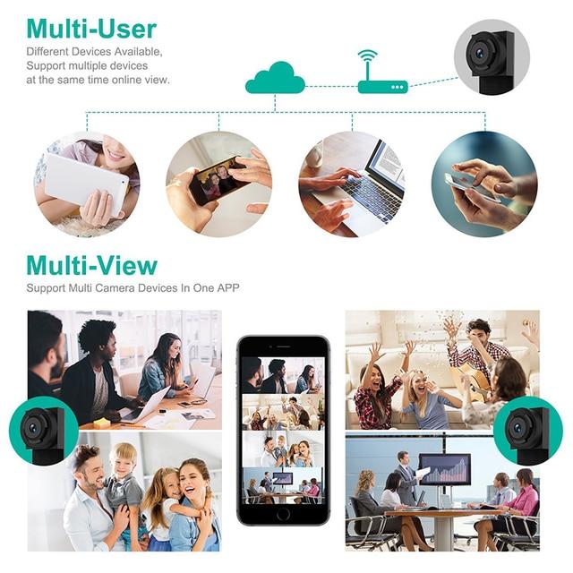 Mini Wifi Camera Remote Control 1080P Full HD Wireless P2P Video Audio Recorder  wi fi Camera  Mini Cam DV Camcorder IP Camera 1
