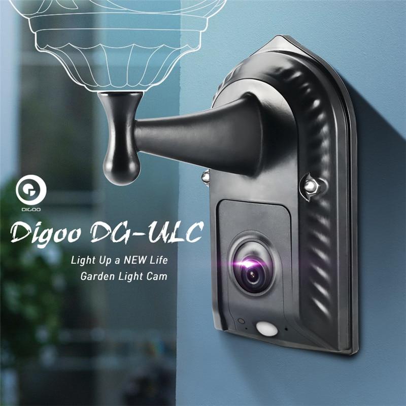 Digoo DG-ulc Садоводство прожектор держатель Камера WI-FI H.265 HD 120 Широкий формат 1080 P 2.4 мм объектив PIR Сенсор IPX5 Водонепроницаемый