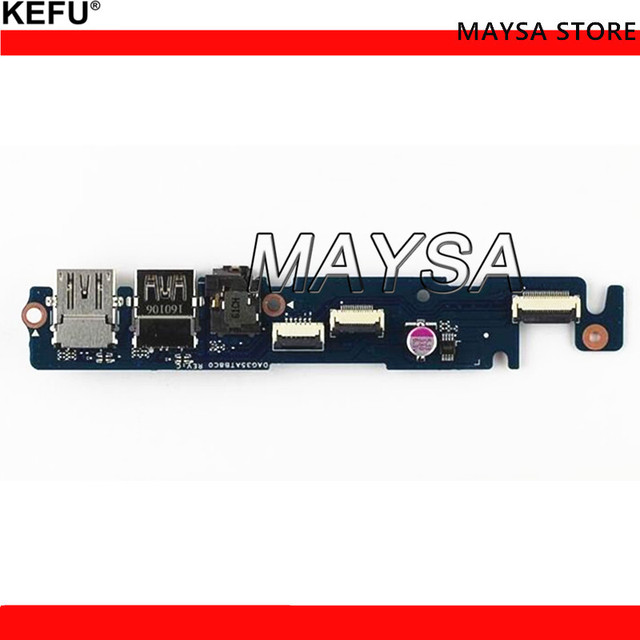 US $17 0 |original Fit For HP 15 ax 15 ax033dx 15 AX250WM series Usb AUDIO  BOARD DAG35TB2AB0 858975 001 test good free shipping-in Computer Cables &