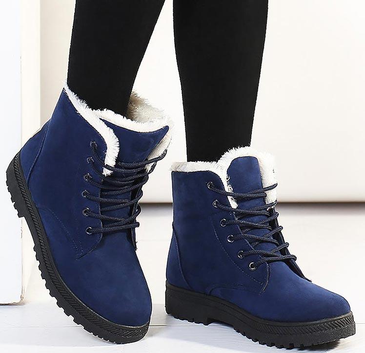 Women Shoes lace-up Winter Shoes 13