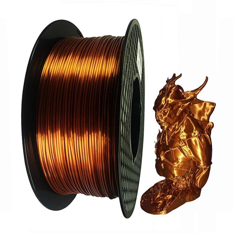 Aliexpress.com : Buy Silk Metal 3D Printing PLA Filament 1