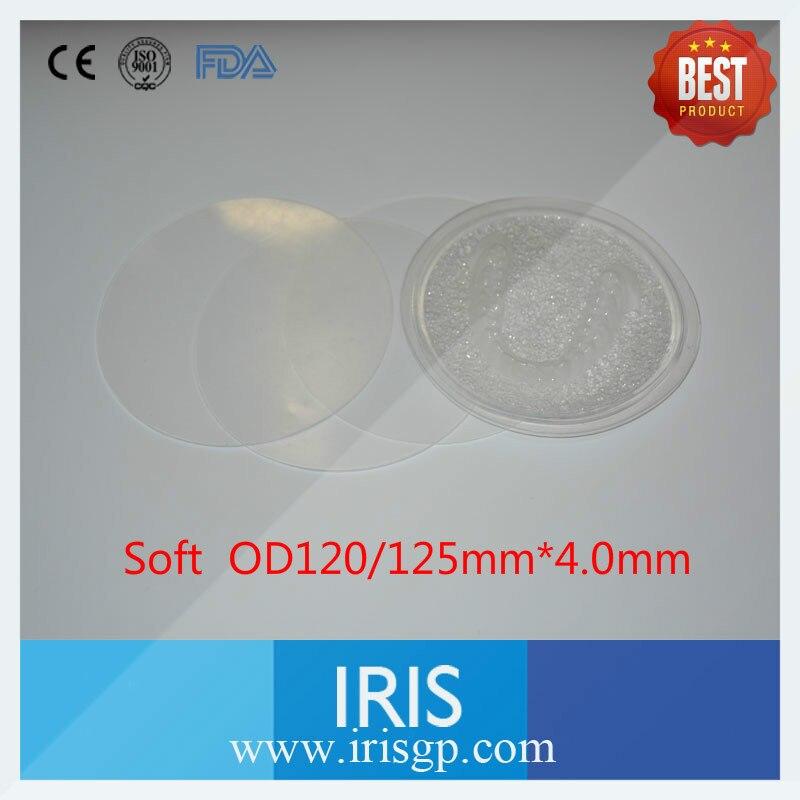 10 pcs bag OD120 125 4 0mm Soft Beauty font b White b font Film Denture