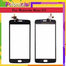 10Pcs/lot Touchscreen For Motorola Moto G5 XT1672 XT1676 XT1670 Touch Screen Digitizer Front Glass Panel Sensor 5.0 Replacement front cover replacement for motorola symbol mc36