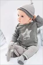 2016 Winter&Autumn baby boy girl clothes casual 3pcs (Hat + T-shirt+pants) The stars leisure baby boys clothing sets