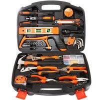 Household Tool Set Multifunctional Hardware Toolbox Electrical Woodworking Maintenance Manual Tool Set