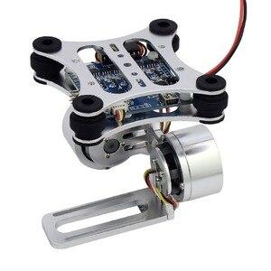 Image 2 - Aluminium 2 Axis Borstelloze Gimbal Camera Mount Controll Plug Voor Gopro 3/4/5/6/7/8 Camera S Voor Dji Phantom Trex 500/550 Drone