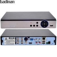 GADINAN 4CH AHD 4MP DVR Hybrid 2 AHD 4M 2 IP 4M 4 5M AHD TVI