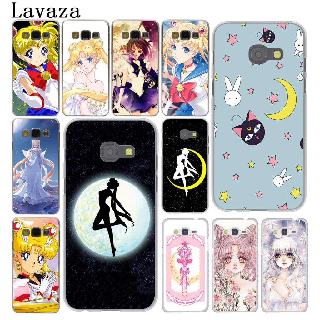 Half-wrapped Case Lavaza Sailor Moon Sailor Mercury Lovely Cute For Samsung Galaxy A6 A8 Plus A7 A9 2018 A3 A5 2017 2016 2015 Note 9 8 Factories And Mines