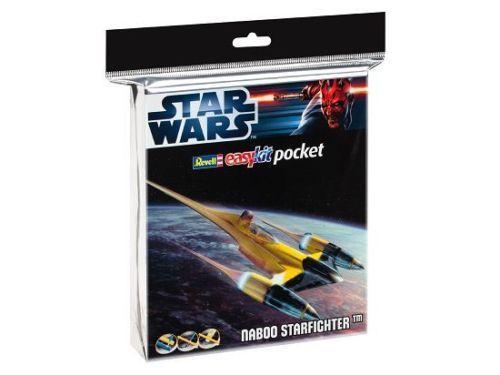 Fora de catálogo! Revell Easykit bolso 06730 - Star Wars Naboo Starfighter - 1:109 Kit plástico