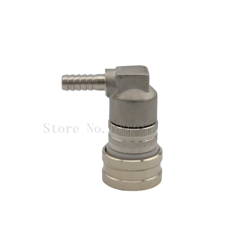 Stainless Steel Ball Lock Keg Connector Fittings Gas Liquid Quick Disconnect Beer Dispenser Home Brew in Other Bar Accessories from Home Garden