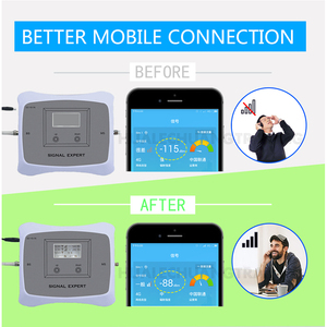 Image 4 - GSM WCDMA LTE Mobile Phone Signal Booster 3G 4G LTE 1800 2100 Dual Band Cell Phone Cellular Signal Repeater Amplifier For Home