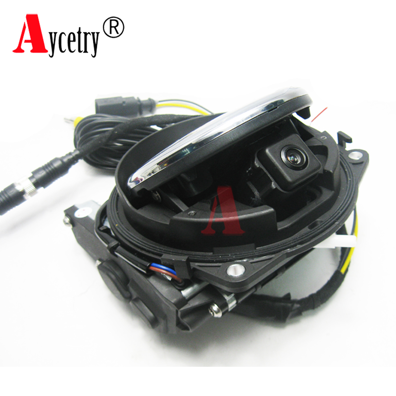Aycetry! For VW Badge Logo Smart Flip car Rear View Reversing Camera For VW Golf 5/6/7 MK6/MK7 Passat cc B6/B7/B8 Magotan Beetle(China)