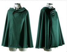 Attack on Titan Cloak Cape Clothes Shingeki No Kyojin Cosplay