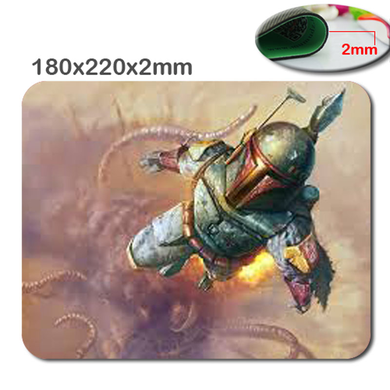 Mairuige New Arrival Top Selling Star Wars Battlefront Fashion Best Rubber Gaming Mouse Pad Gamer Play Mats for Size 18*22*2cm
